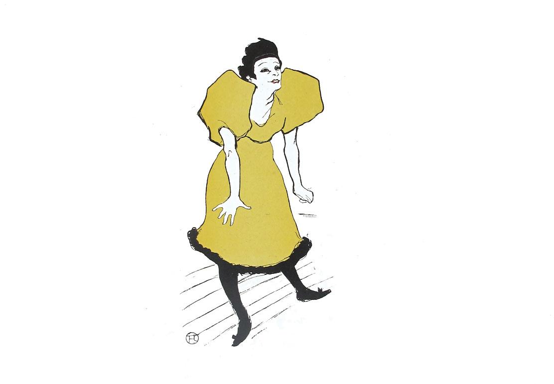 Henri de Toulouse Lautrec Mademoiselle Polaire