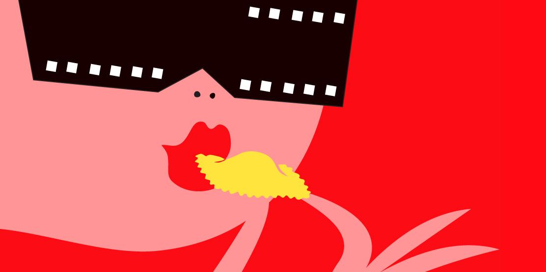 Risultati immagini per illustration italian cinema