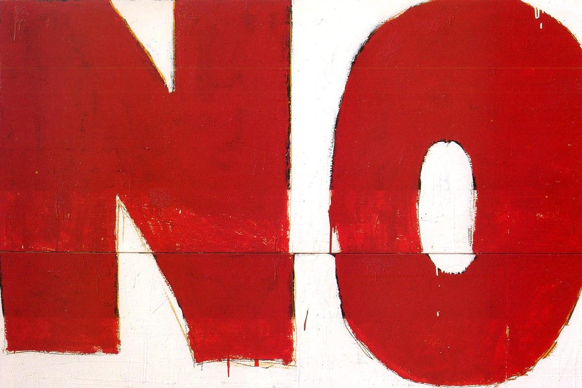 Mario Schifano - No!