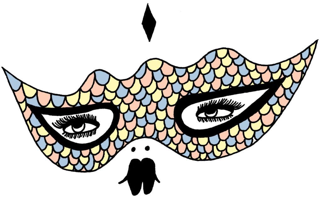 illustrazione onirica dell'artista italiana la fille bertha
